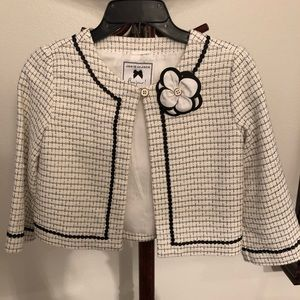 Girls jacket with flower